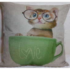 Cup of Love Cushion