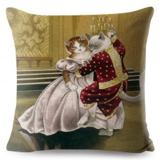 Cat and Meow Cushion