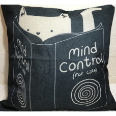 Mind Control Cat Cushion