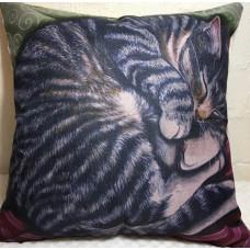 Sleeping Tabby Cushion