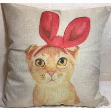 Burmese Bow Cushion