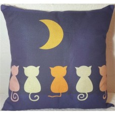 Moon Cats Cushion