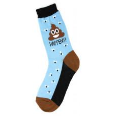 Poop Happens Socks - Ladies