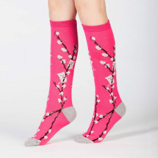 Kids Kitty Willow Knee High Socks