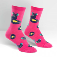 Cat Scratch Socks - Womens