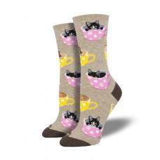 Cat-Feinated Socks